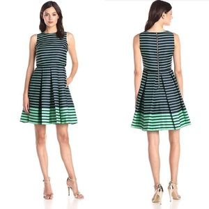 Just Taylor | Taylor pleated A-line dress